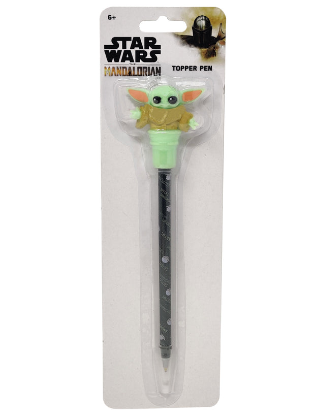 Star Wars The Mandalorian The Child Grogu Topper Pen Baby Yoda 2-Pack Set