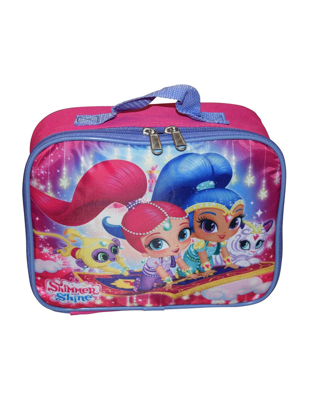 Girls Shimmer and Shine Insulated Lunch Bag Pets Tala Nahal