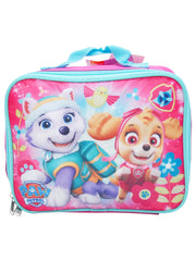 Girls Paw Patrol Insulated Lunch Bag & Sandwich Container 2Pcs