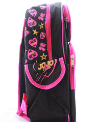 "JoJo Siwa Girls 3D Deluxe Backpack 16"" w/ Play Pack Grab & Go Crayons Stickers"