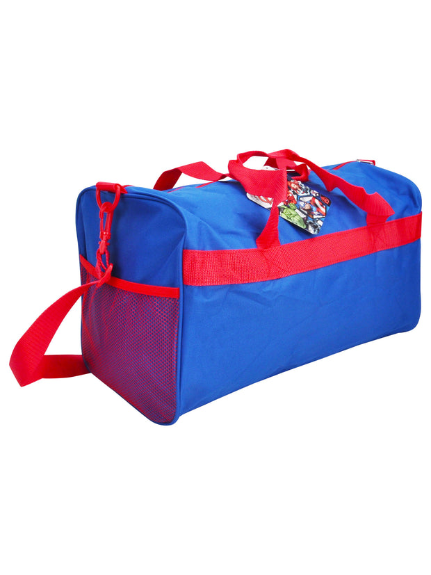 "The Avengers Duffel Bag 18"" Blue Red"