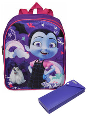 "Vampirina Girls Mini 12"" Backpack & Sliding Pencil Case 2-Piece Set"