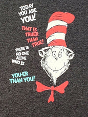 "Dr Seuss Cat in The Hat ""Today You Are You"" Short Sleeve T-Shirt (Size 2T Only)"