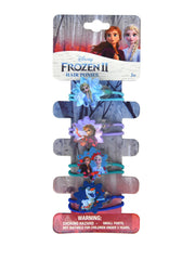 Disney Frozen II Elsa & Anna Faux Hair Set & Hair Ponies (4-Piece) Set