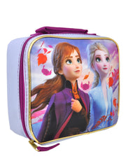 Disney Frozen II Girls Insulated Lunch Bag & Food Container (2-CT) Set