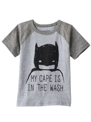Toddler Jumping Beans DC Comics Batman Raglan T-Shirt My Cape Is In The Wash