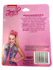JoJo Siwa Scented Nail Polish w/ Coin Purse Bag Key Chain & Lip Gloss Set