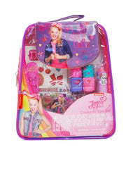 Girls Jojo Siwa Cosmetics & Tote Bag Set w/ Large Blue Bow