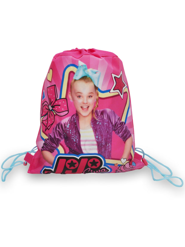 JoJo Siwa Sling Bag & 3D Sticker Sheet (22-CT) & 6-in-1 Stamper Pen 3-Pcs Set