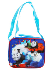 Boys Thomas & Friends Insulated Lunch Bag w/ Shoulder Strap Blue