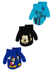 Toddlers Mickey Mouse Gloves Mittens 2T-4T (3-PACK)