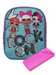 "Girls LOL Surprise! Mini Backpack 11"" & Sliding Pencil Case 2-Piece Set"