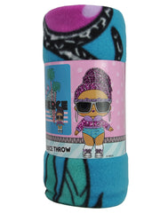 "LOL Surprise! Fleece Throw Blanket 45"" x 60"" & Rock On Sling Bag 2-Piece Set"