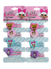 Girls LOL Surprise! Characters Girls Elastic Hair Ponies Ties 8-CT