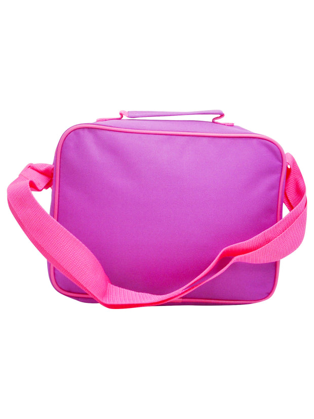 Girls LOL Surprise! Insulated Lunch Bag with Shoulder Strap Purple Pink