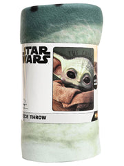 "Disney Star Wars Baby Yoda Throw Blanket 45"" x 60"" The Child"