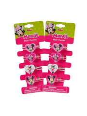 Disney Minnie Mouse Girls Elastic Hair Ties Ponies Accessory 8-CT