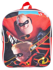 "Boys Pixar Incredibles Mini Backpack 11"" Dash w/ Washable Markers Colormax 8PK"