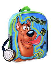 "Scooby Doo Small 11"" Backpack w/ BIC 4-Color Mini Pen Carabiner Clip Set"