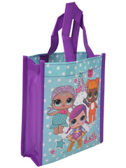 Girls LOL Surprise Small Reusable Tote bag w/ 14oz Water bottle & Star Ice Cube