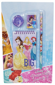 Girls Disney Princesses Group Sling Bag & Study Kit Pink