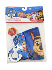 Kids Boys Paw Patrol Chase Puppy Reusable Face Mask Cover w/ Removable Strap