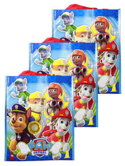 "Paw Patrol Non-woven Tote Bag 12"" Blue 3-Pack"