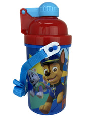 Paw Patrol Canteen Water Bottle 12oz Popup Lid & Shoulder Strap Marshall Skye