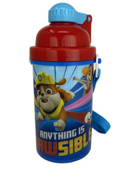 Paw Patrol Water Bottle Canteen 12 oz Pop-Up Straw & Sandwich Bread Container