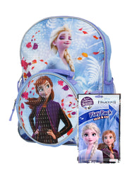 "Frozen II 16"" Backpack w/ Detachable Insulated Lunch Bag & Grab-N-Go Play Pack"