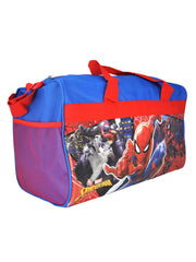 Marvel Spider-Man  Duffel Bag & Heroes Cup Toothbrush (4-CT) Set