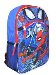 "Marvel Spider-Man 16"" Backpack Web Sling w/ Grab & Go Play Pack Coloring Book"