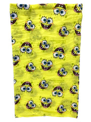 Kids Boys Spongebob All-Over Print Neck Gaiter Wrap Lightweight Versatile