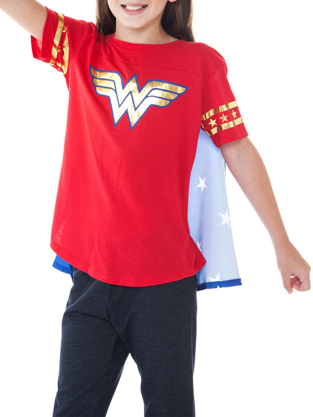 DC Superhero Girls Wonder Woman Costume T-Shirt Size X-Large