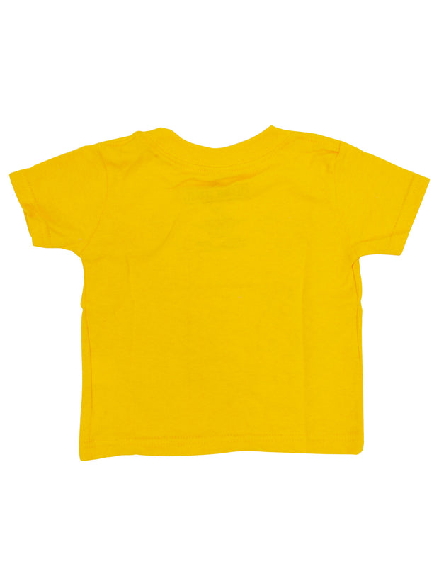 Baby Boys Sesame Street Names T-Shirt - Short Sleeve Yellow