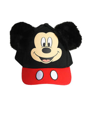 Mickey Mouse Boys Toddler Baseball Cap Hat Ears Black