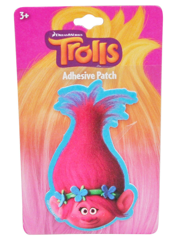 Trolls Characters Girls Pencils w/ Erasers & Adhesive Patch 11-PK School Supplies