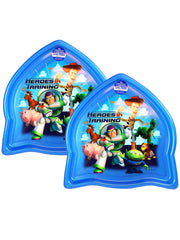 Toy Story Heroes Rocket Shape Plate BPA-Free by Zak! 2-Pack