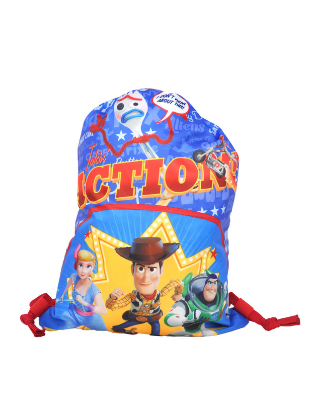 "Disney Toy Story 4 15"" Sling Bag & Semi Round Tin Box w/Clasp & Handle 2-Pcs Set"