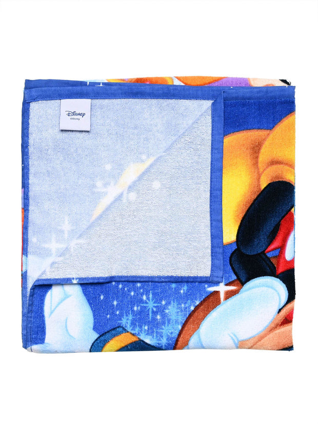 Disney Minnie Mickey Mouse  Princess Goofy  Beach Towel 58x28  w/Sling Bag