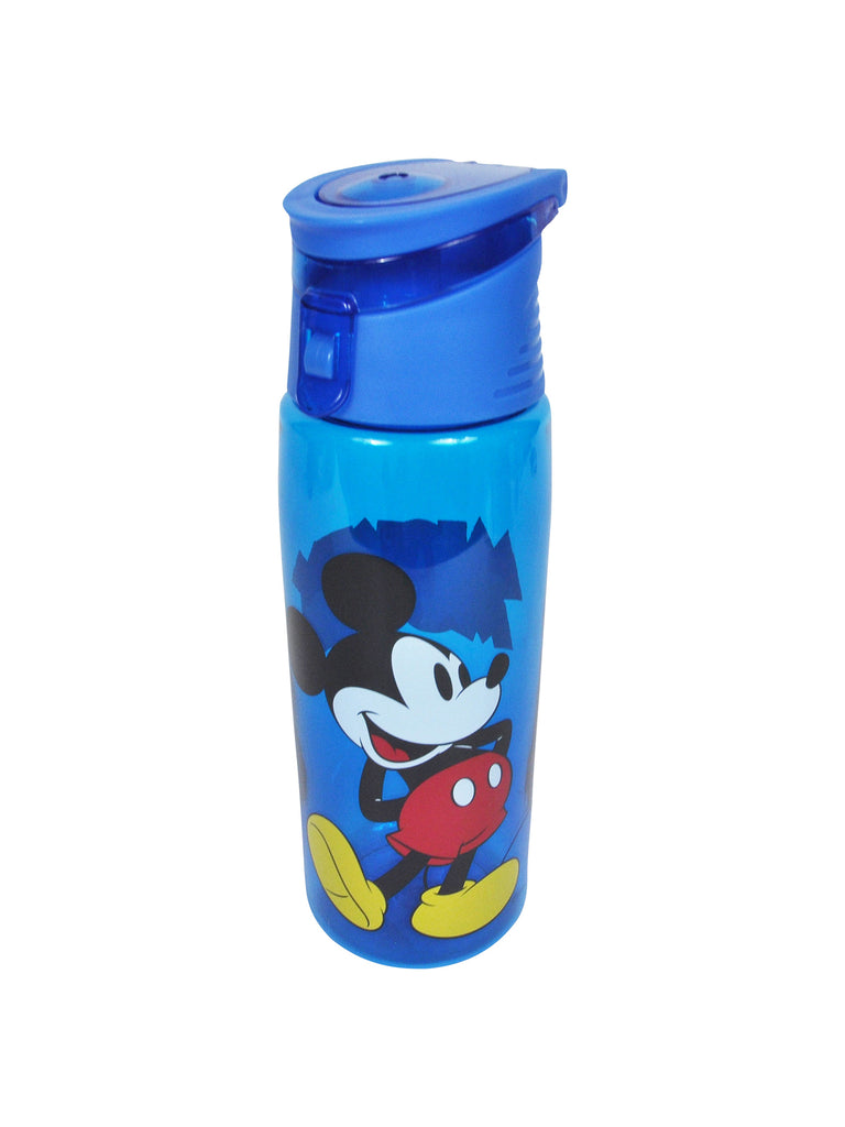 Disney Mickey Mouse Blue Flip Top Water Bottle BPA-FREE 25oz