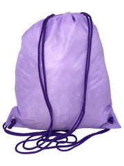 Disney Frozen II Anna Elsa Sling Cinch Bag Drawstring Tote Purple