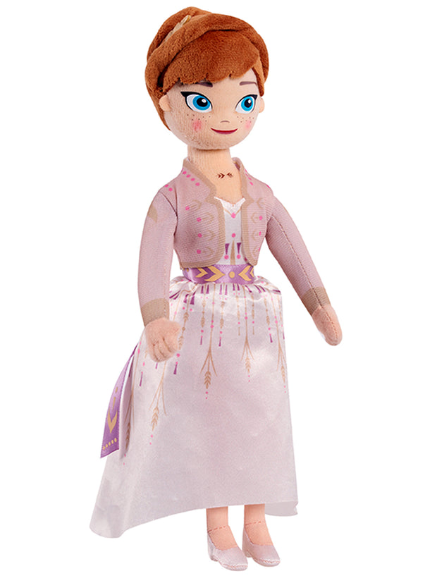 "Disney Frozen II Anna 10"" Plush Doll & Elsa & Anna Faux Hair Set"