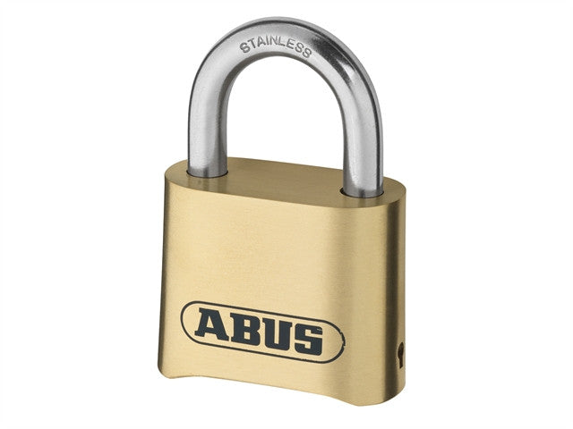 Abus 180IB Brass Body Combination Padlock (4-Digit) Carded