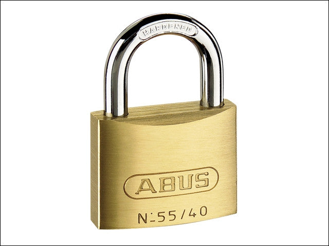 Abus 55/25 25mm Brass Padlock Keyed 5251