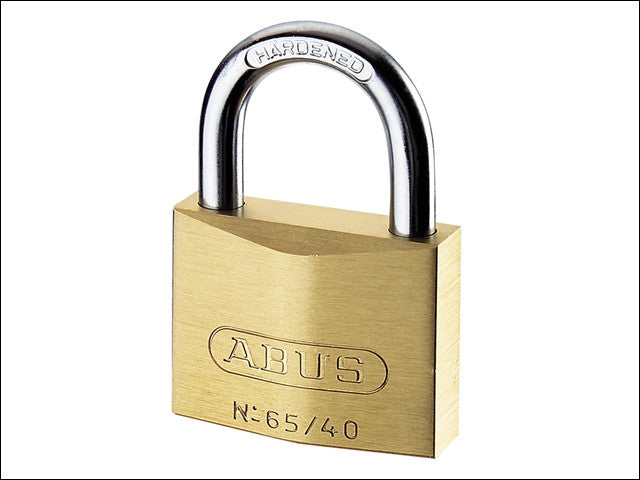 Abus 65/25 25mm Brass Padlock Keyed 6253