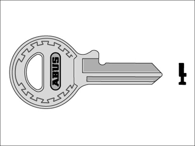 Abus Right Hand Key Blank