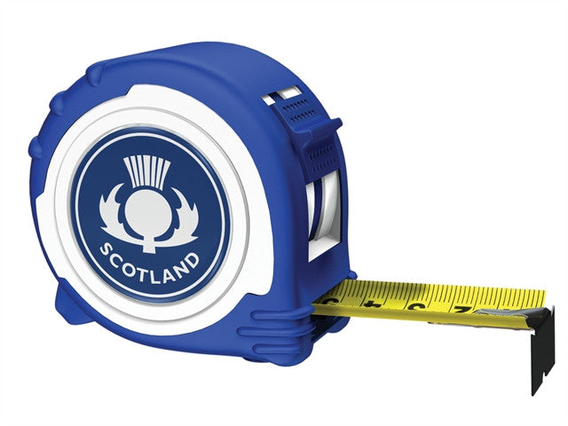Advent Scotland Logo Tape Blue & White 5m/16ft