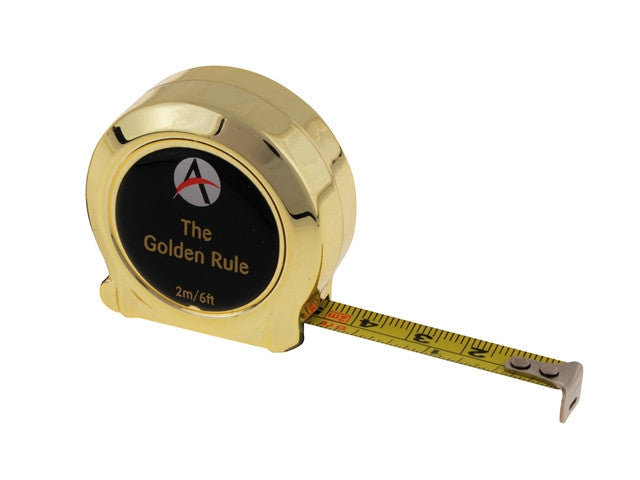Advent Golden Rule Tape 2m / 6ft (Width 10mm)
