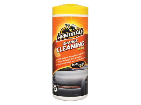 ArmorAllТЎ Orange Cleaning Wipes Tub of 30
